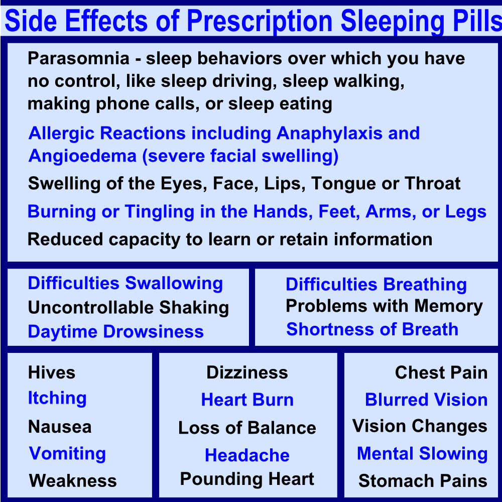 powerfull side effects